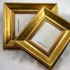 4x5 Deluxe Gold Photo Frame in Simple Smooth par mackenzieframes, $36,00