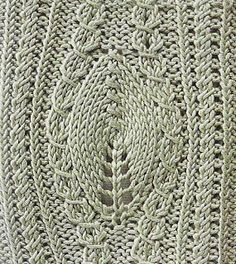 Free Knitting Patterns: Leaves
