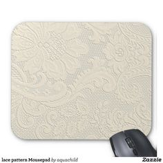 lace pattern Mousepad