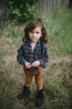little boy style, kid style, style for a little boy, man bun, baby bun, boy with long hair harems camdypants on instagram combat boots plaid shirt suspenders kids fashion