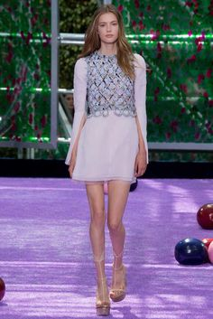Christian Dior Fall 2015 Couture Fashion Show Collection