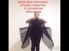 Moda sem costuras #byGloriaLeite - YouTube