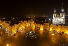 привет из вечерней Праги