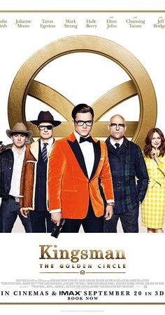 Directed by Matthew Vaughn. With Taron Egerton, Colin Firth, Mark Strong, Channing Tatum. When their headquarters are destroyed and the world is held hostage, the Kingsman's journey leads them to the discovery of an allied spy organization in the US. These two elite secret organizations must band together to defeat a common enemy.