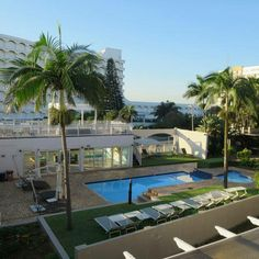 Gardens and pool at Umhlanga Cabanas. North Coast, Gardens, Mansions, House Styles, Home Decor, Cabanas, Decoration Home, Room Decor, Fancy Houses