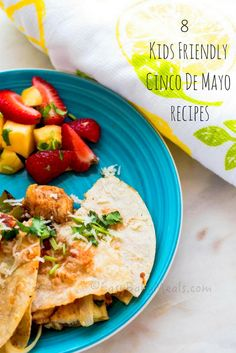 These 8 Deliciously curated recipes are all Kids Friendly and are perfect to celebrate Cinco de Mayo. With recipes like these, the festivities will continue throughout the weekend. Happy Cinco De M…