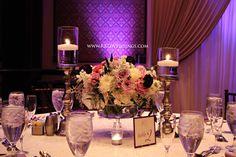 Lavender, purple, white and silver wedding Hammock Beach Resort Ocean Ballroom