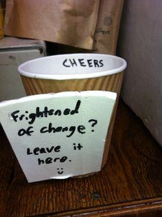 a funny tip jar