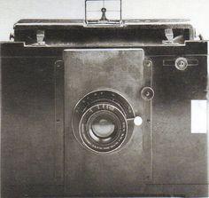 Goerz-Anschütz-Klapp-Camera der Gebrüder Haeckel, 1905.