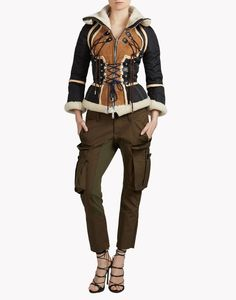 Icon Climbing Corset Jacket - Jacket Women - Dsquared Official Online Store