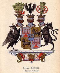 gräfliches Wappen Raben-Levetzau