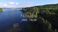 Patajoki  - Jämsä, Finland (Länsi- ja Sisä-Suomi) Lake Patajoki in Jämsä municipality One of the beautiful lakes in Finland DJI Phantom 3 Professional aerial shots – copyright larsscheve.nl