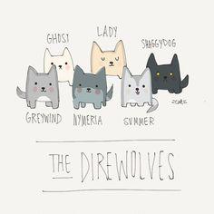 The direwolves