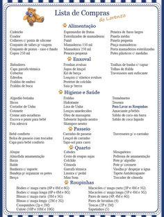 Diário da Gravidez : Lista de Compras para o Enxoval do Lorenzo - O que comprar para a chegada do bebê