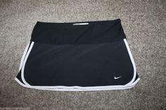 Nike Womens Fit Dry Black Tennis/ Golf Skort Size Small (4-6) #Nike #SkirtsSkortsDresses