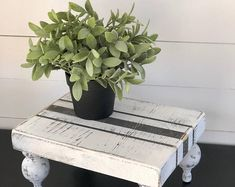 Wood tray farmhouse style with grainsack detail. Great for   Etsy