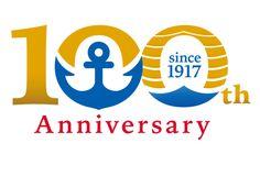 和幸マスコットキャラクターと100周年記念ロゴ