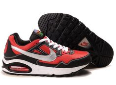 Nike Air Max Skyline Mens Walking Red Silver Black Shoes