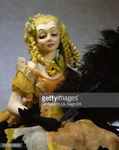 Doll made by Lenci, ca 1925, designed by Marcello Dudovich . Italy, 20th century.