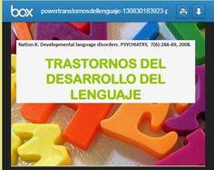 Logopedia en especial: Trastornos del lenguaje