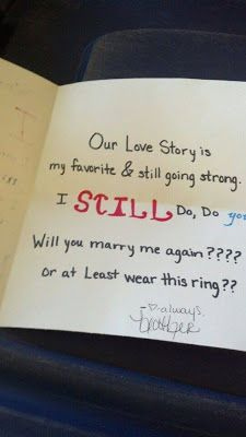 You are the...... anniversary Ideas