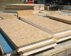 SIP- structural insulated panels
