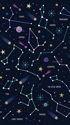 Constellations Wallpaper Phone – Night Sky Stars – Zodiac Signs – Astrological Signs – My Pin Page Space Phone Wallpaper, Planets Wallpaper, Wallpaper Samsung, Tumblr Wallpaper, Cute Wallpaper Backgrounds, Aesthetic Iphone Wallpaper, Galaxy Wallpaper, Lock Screen Wallpaper, Cool Wallpaper