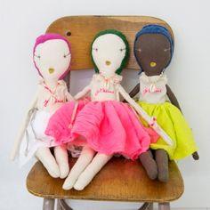 Rag dolls by Jess Brown for Atsuyo et Akiko