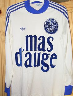 Olympique de Marseille. Home 1979-1980.