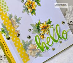 Big Scripts Stamp Set | Power Poppy by Marcella Hawley