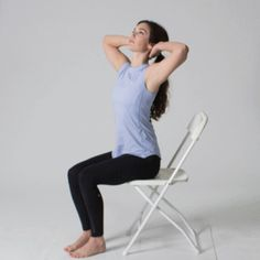 Back pain is common as we age. Here are five gentle stretches to try while seated in a chair. They may help ease some of the pain.