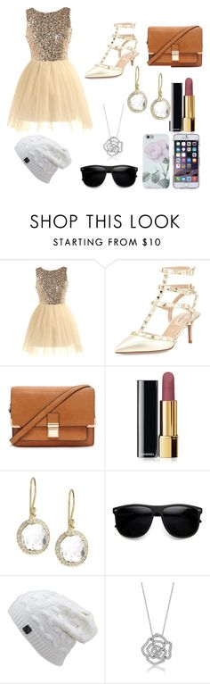 """""""2ND DATE"""" by closandmoreclose on Polyvore featuring Valentino, Forever 21, Chanel, Ippolita and BERRICLE"""