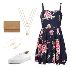 """""""ᔕᑌᗰᗰEᖇ ᔕTYᒪE"""" by anniemeli on Polyvore featuring Ally Fashion, Vans, Accessorize, BCBGeneration, MICHAEL Michael Kors, women's clothing, women, female, woman and misses"""