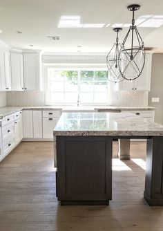 Charmant We Are Drooling Over This Kitchen With White Springs Granite! @jennleiboaz  @srjdevelopment!