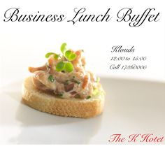 Enjoy a vast selection of culinary specialties cooked for an engaging Lunch Buffet experience.  - #Klouds #BusinessLunchBuffet at #Thekhotel   12:00 to 15:00 Call 17360000