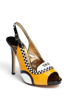 CRAZY, nope would not wear these but they are cute! .kate spade new york 'le taxi' pump available at #Nordstrom
