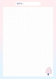 Grid Paper Printable, Free Printable Stationery, Memo Notepad, Note Doodles, Cute Notes, Notes Template, Notebook Paper, Bullet Journal Ideas Pages, Note Paper