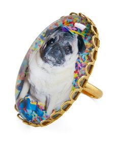 Party pug ring! $27.99