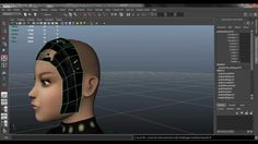 creating hair with transparency- maya/photoshop (also how to create a hair brush in photoshop)