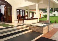 Courtyard Design In Kerala  Contemporary Home Design Ideas Inspiration Kerala Home Kitchen Designs Review