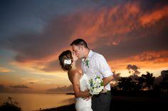 Beautiful Key West Sunset Wedding