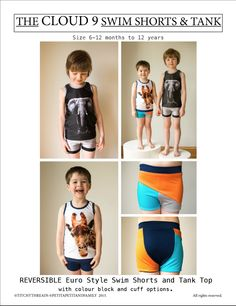 Image of Cloud9 Swim Shorts and Tank