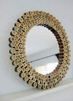 Bamboo Sunburst Mirror :: Hometalk