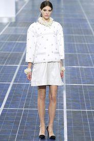 Chanel Spring/Summer 2013|5!!! Bebe'!!! White On White Chanel!!!
