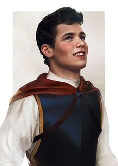 Les princes Disney réalistes : le Charmant de Blanche-Neige