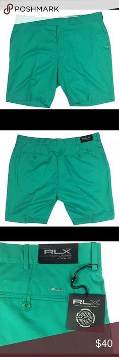 "RLX Ralph Lauren Golf shorts green various sizes A pair of new with tags RLX Ralph Lauren Golf shorts in dark green in various sizes   Dimensions: Size 36 Length:- 20.5"" Waist:- 18"" Inseam:- 9.5""  Dimensions: Size 40 Length:- 21.5"" Waist:- 20.5"" Inseam:- 10""  Thanks for viewing! RLX Ralph Lauren Shorts Athletic"