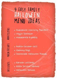 173 best halloween menu images on pinterest halloween foods