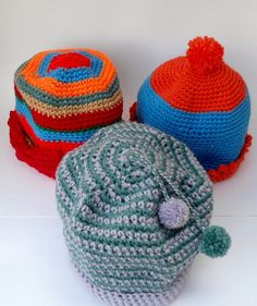 Crochet Hat  Womens Hat  Winter Accessories  Beanie by CRAZYBOOM