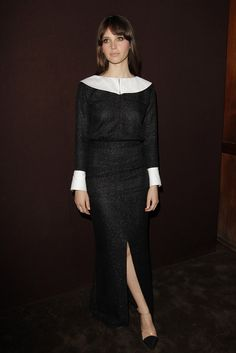 Felicity Jones in Chanel.