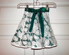 Adorable toddler skirt!  Restless Stitches for Restless Souls